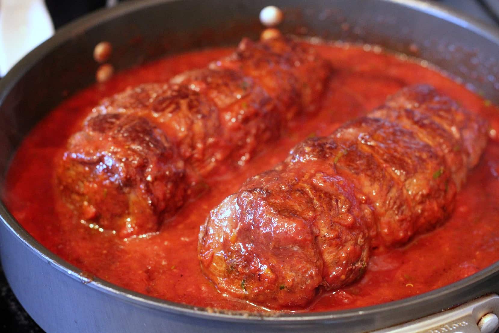 Three Cheese Braciole
