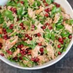 Orzo Power Salad with Salmon, Walnuts, and Greens {Healthy Week: Lunches 7}