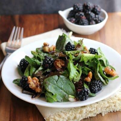 Blackberry Balsamic Vinaigrette Salad