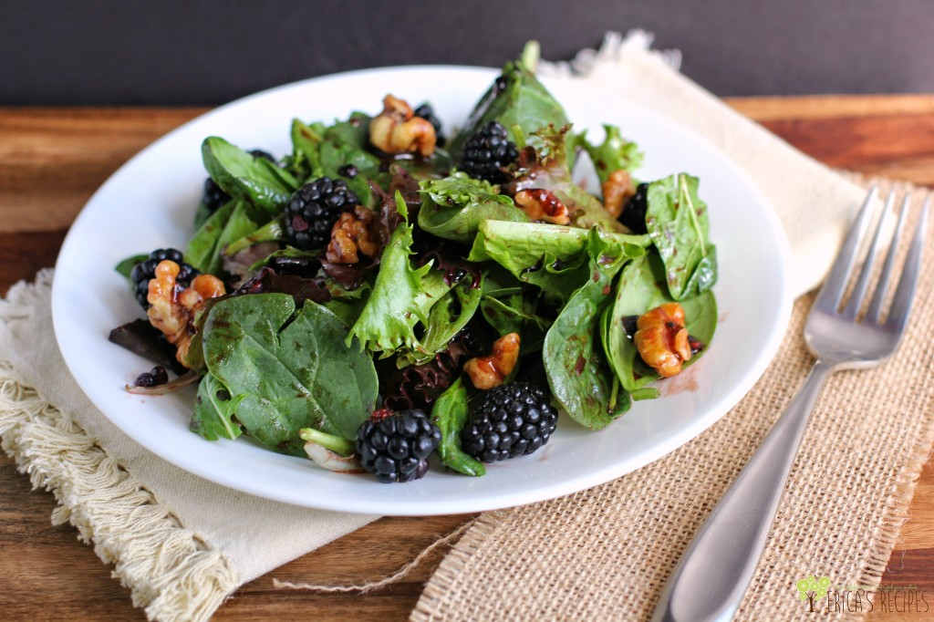 Blackberry Balsamic Vinaigrette | EricasRecipes.com