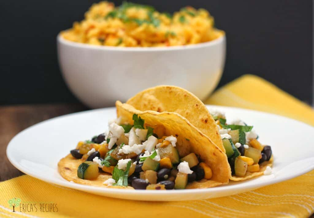 Zucchini, Black Bean, and Corn