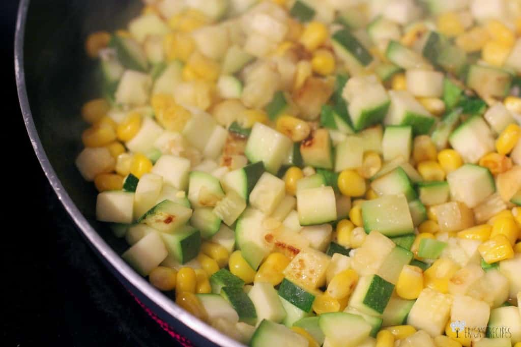 Zucchini, Black Bean, and Corn