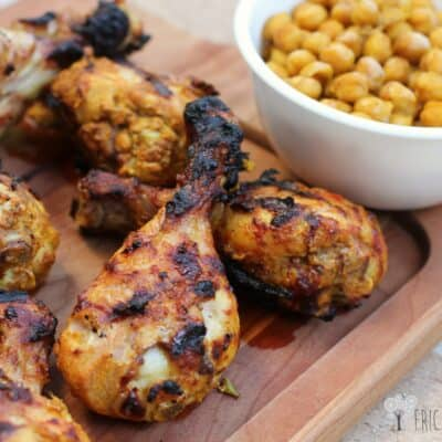 Grilled Tandoori Chicken with Spiced Chickpeas: Cheap Meal of the Week
