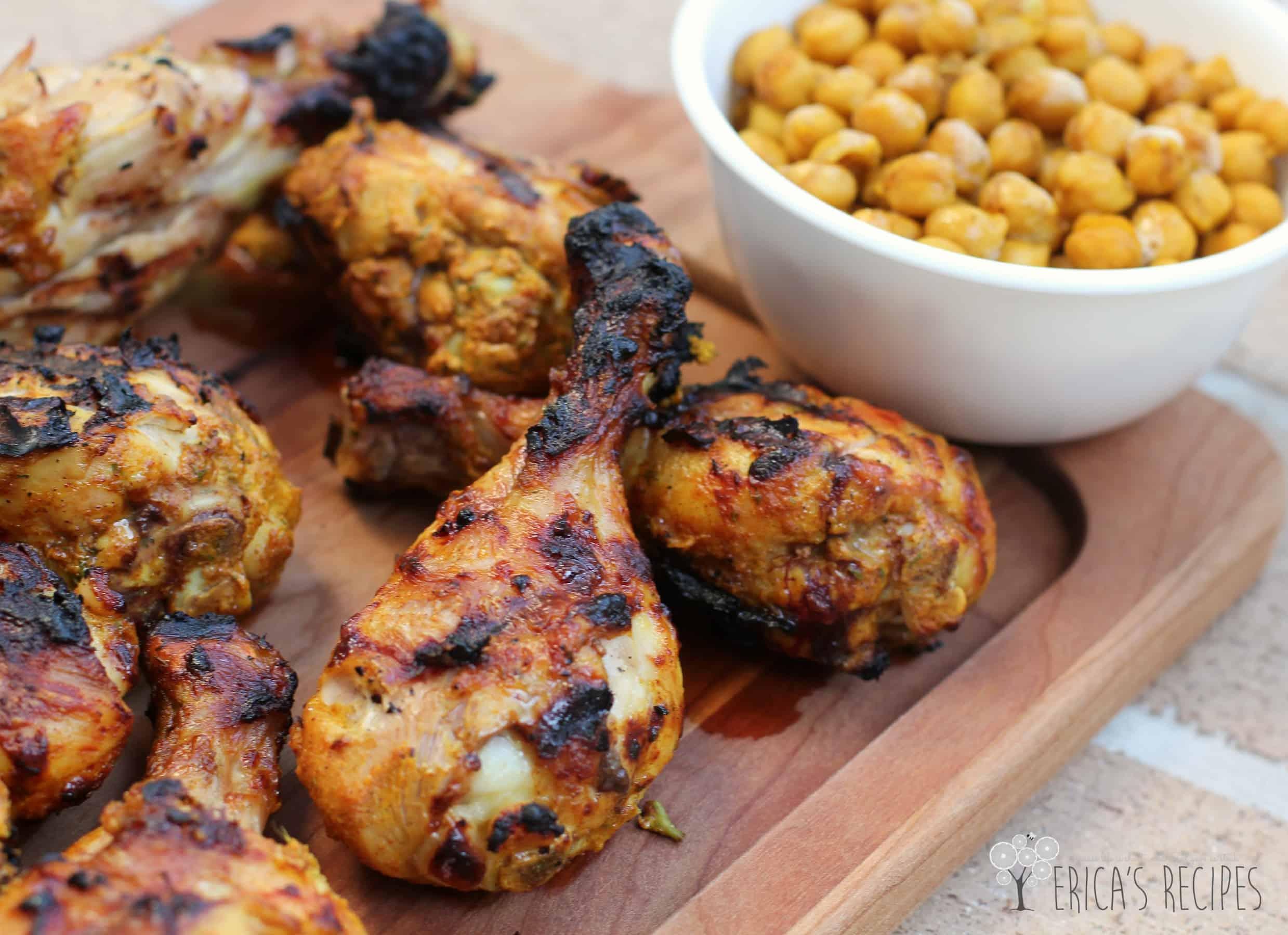 Grilled tandoori chicken with spiced chickpeas cheap meal of the grilled tandoori chicken with spiced chickpeas cheap meal of the week ericas recipes forumfinder Images