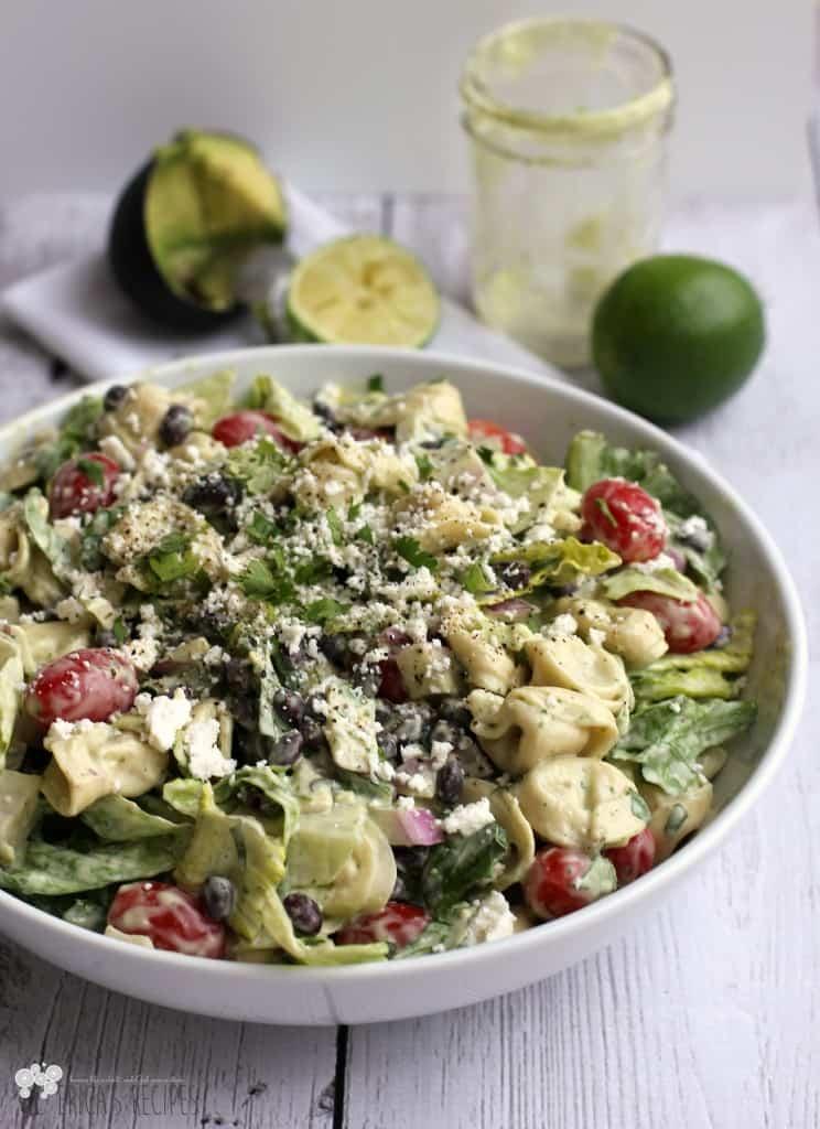 Avocado Tortellini Salad 2CropW