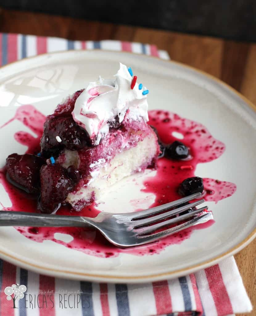 Grown-up Mixed Berry Shortcake | EricasRecipes.com