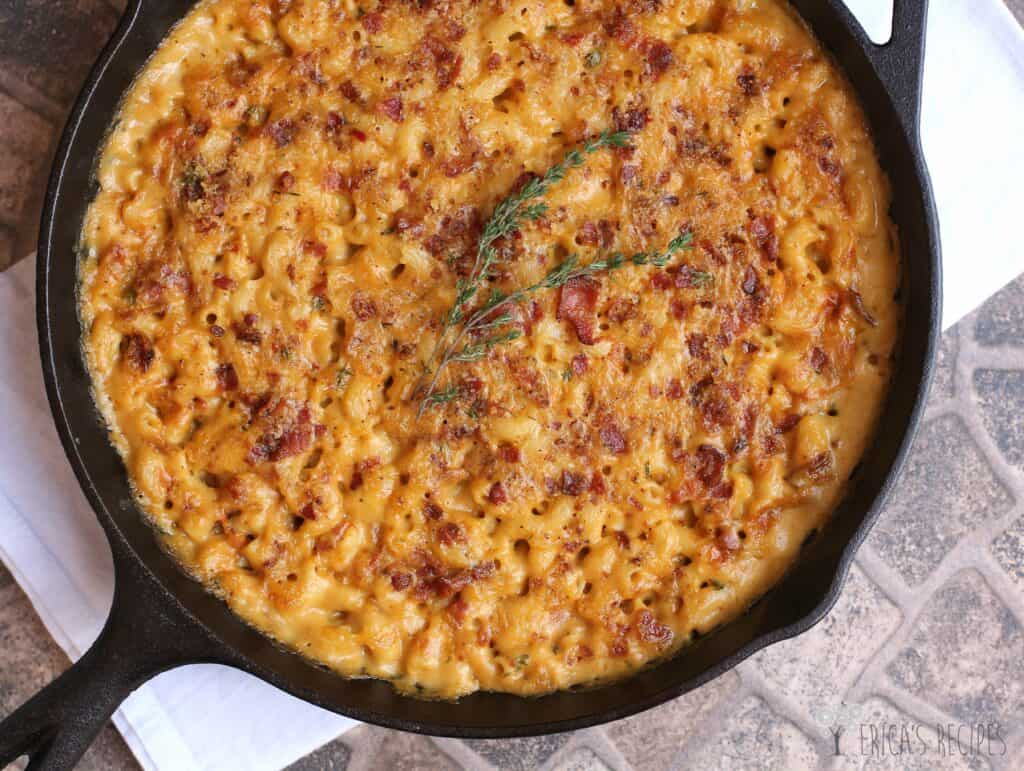 Garlic, Bacon, and Beer Macaroni and Cheese, the best mac and cheese recipe ever