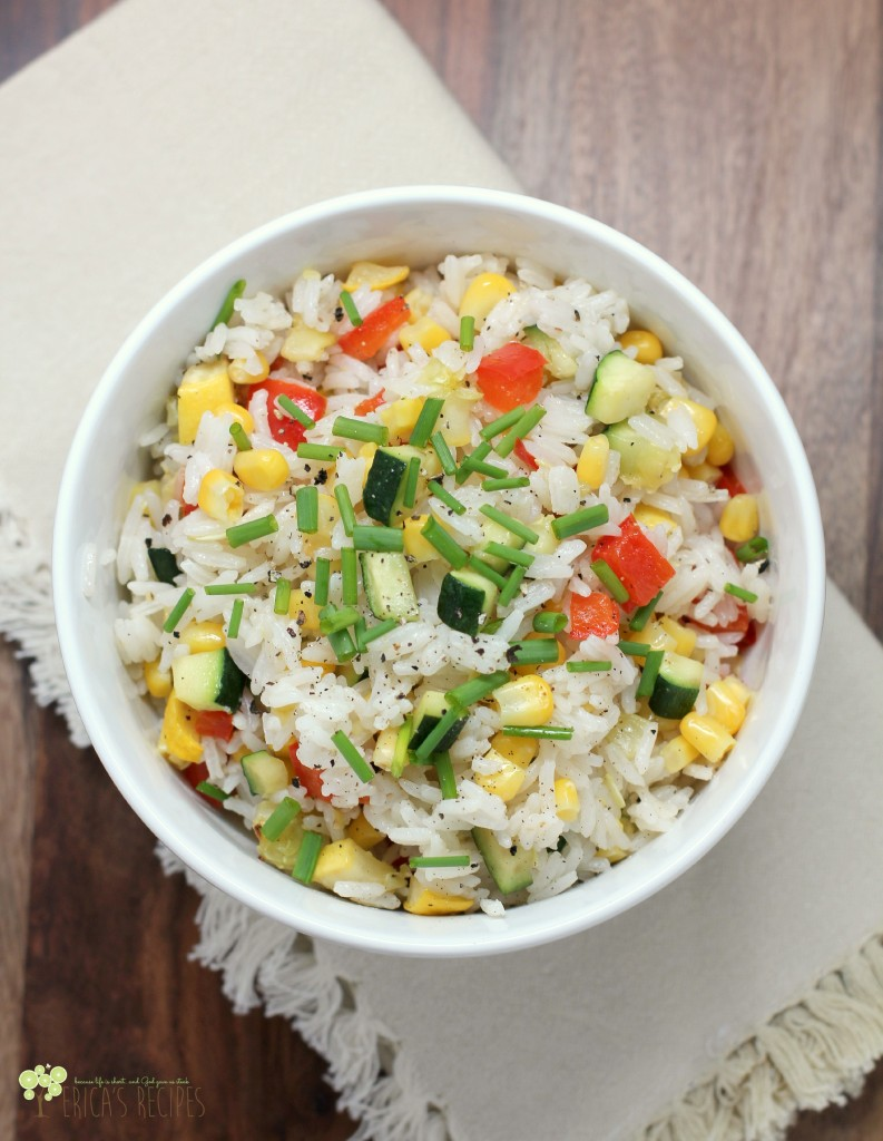 Kid-Friendly Confetti Rice 1aW