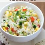 Kid-Friendly Confetti Rice | EricasRecipes.com