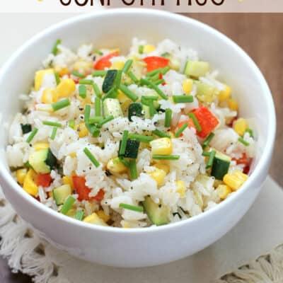 Kid-Friendly Confetti Rice