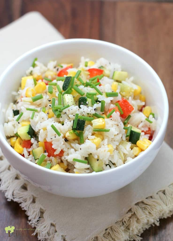 Kid-Friendly Confetti Rice