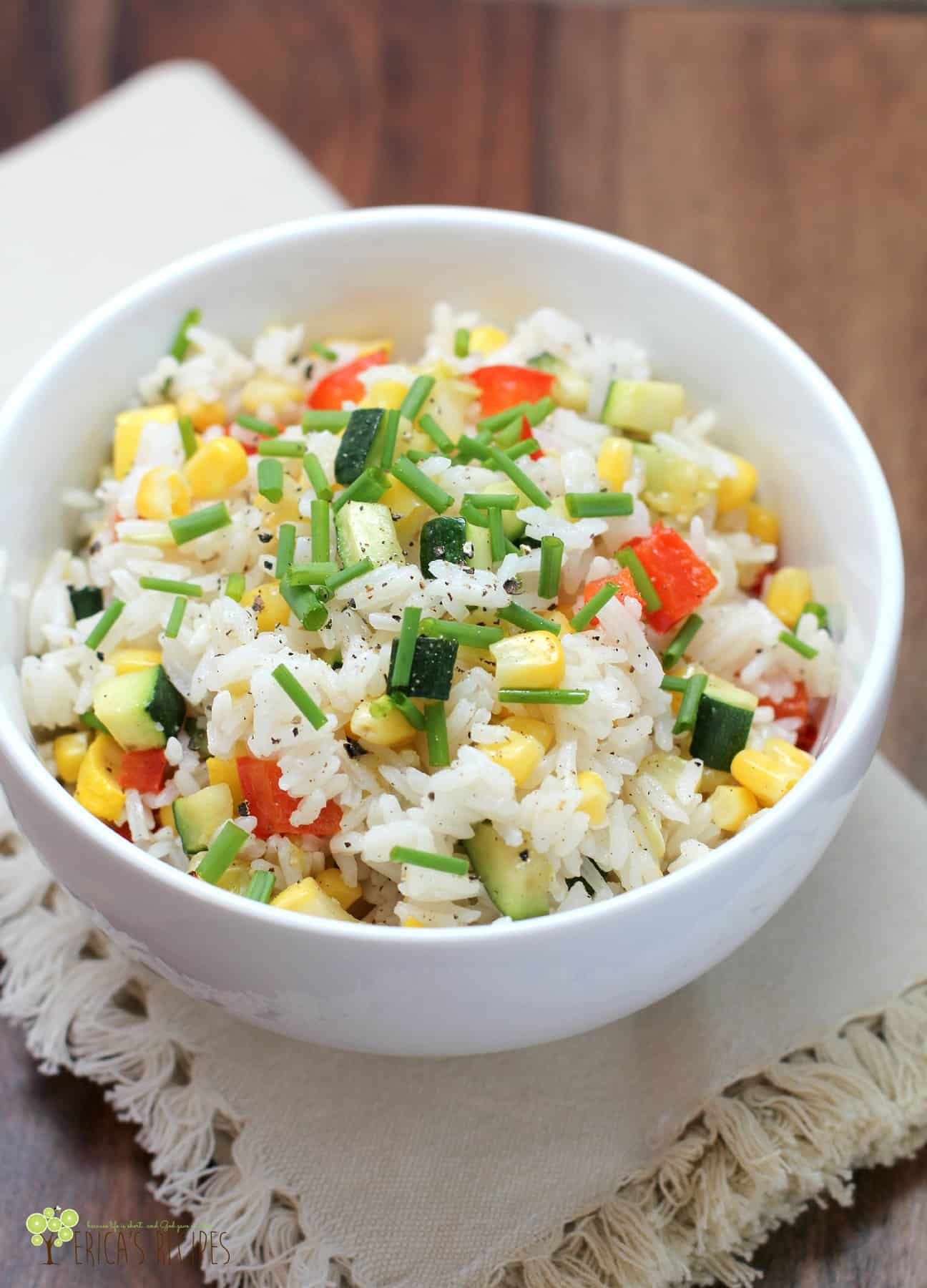 Pretty, colorful Confetti Rice is a sure way to get the kids to eat ...