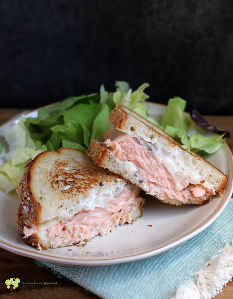 The Best Salmon Melt | EricasRecipes.com