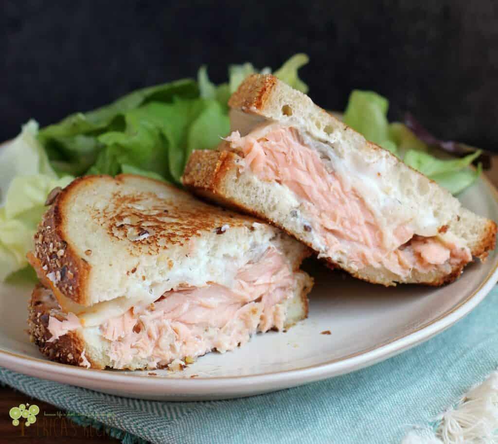 The Best Salmon Melt   EricasRecipes.com