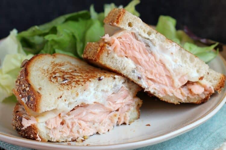 The Best Salmon Melt