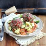 Spaghetti, Zucchini, and Meatballs: Cheap Meal of the Week