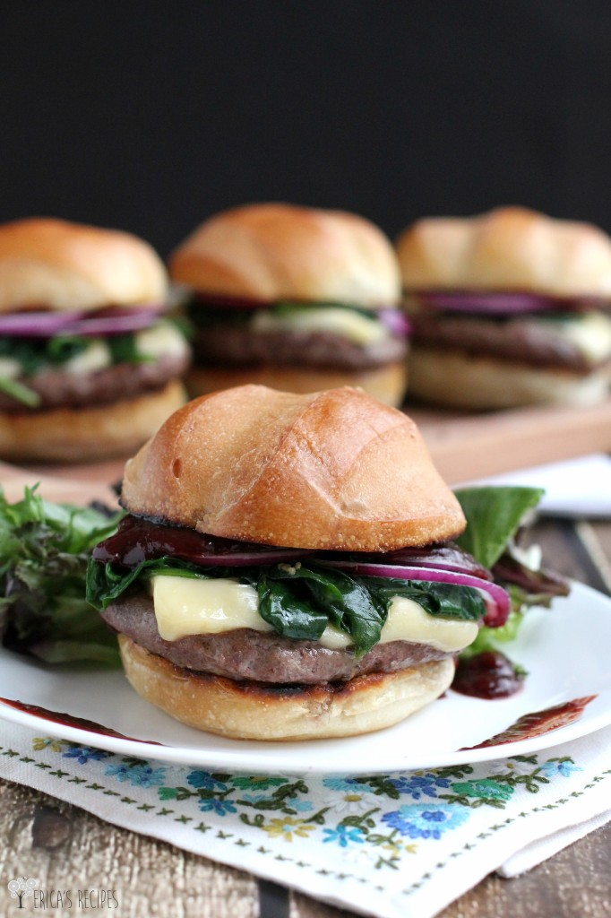 Cherry Chipotle Barbecue Cheeseburger Erica S Recipes