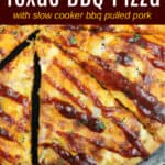 image for social sharing on pinterest with text overly Texas Pizza