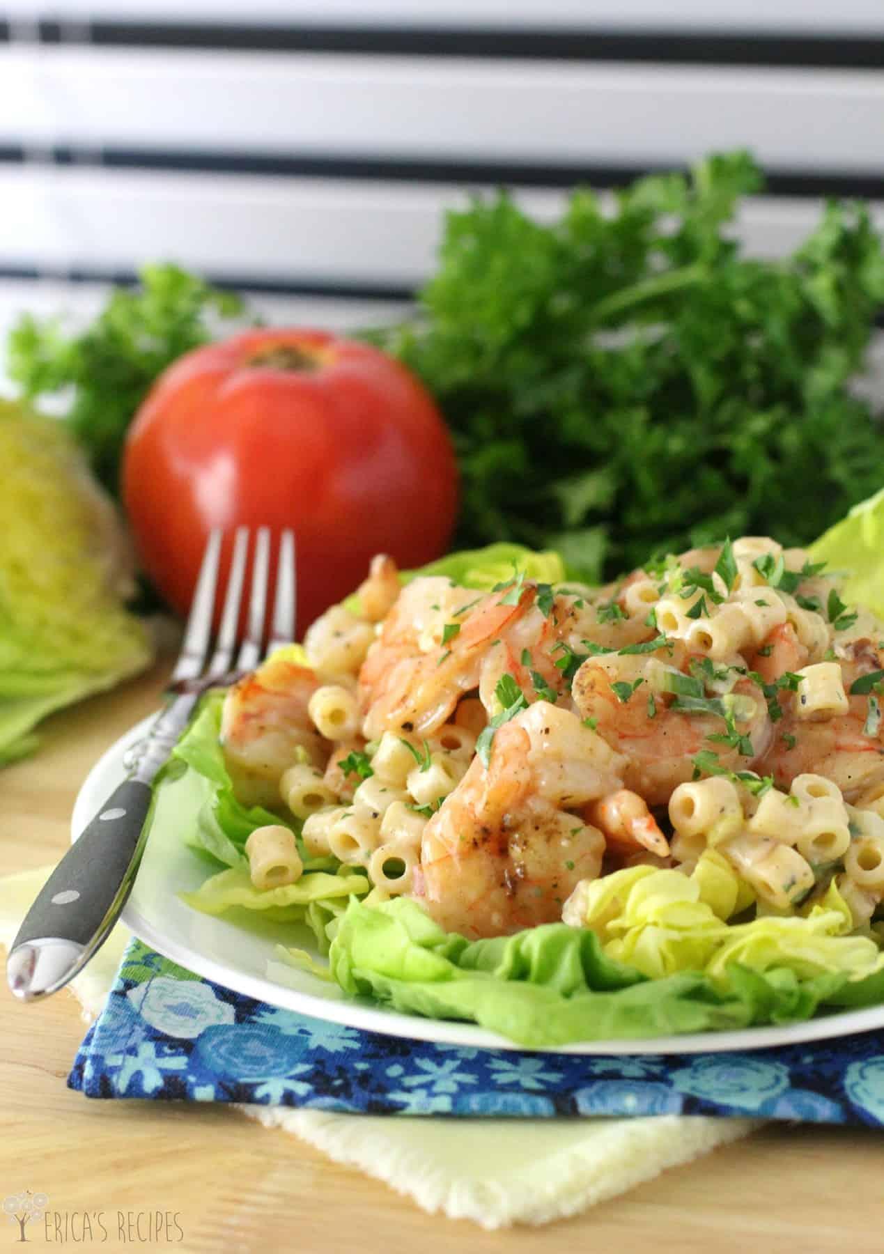 Healthy grilled shrimp cocktail pasta salad ericas recipes healthy grilled shrimp cocktail pasta salad forumfinder Images