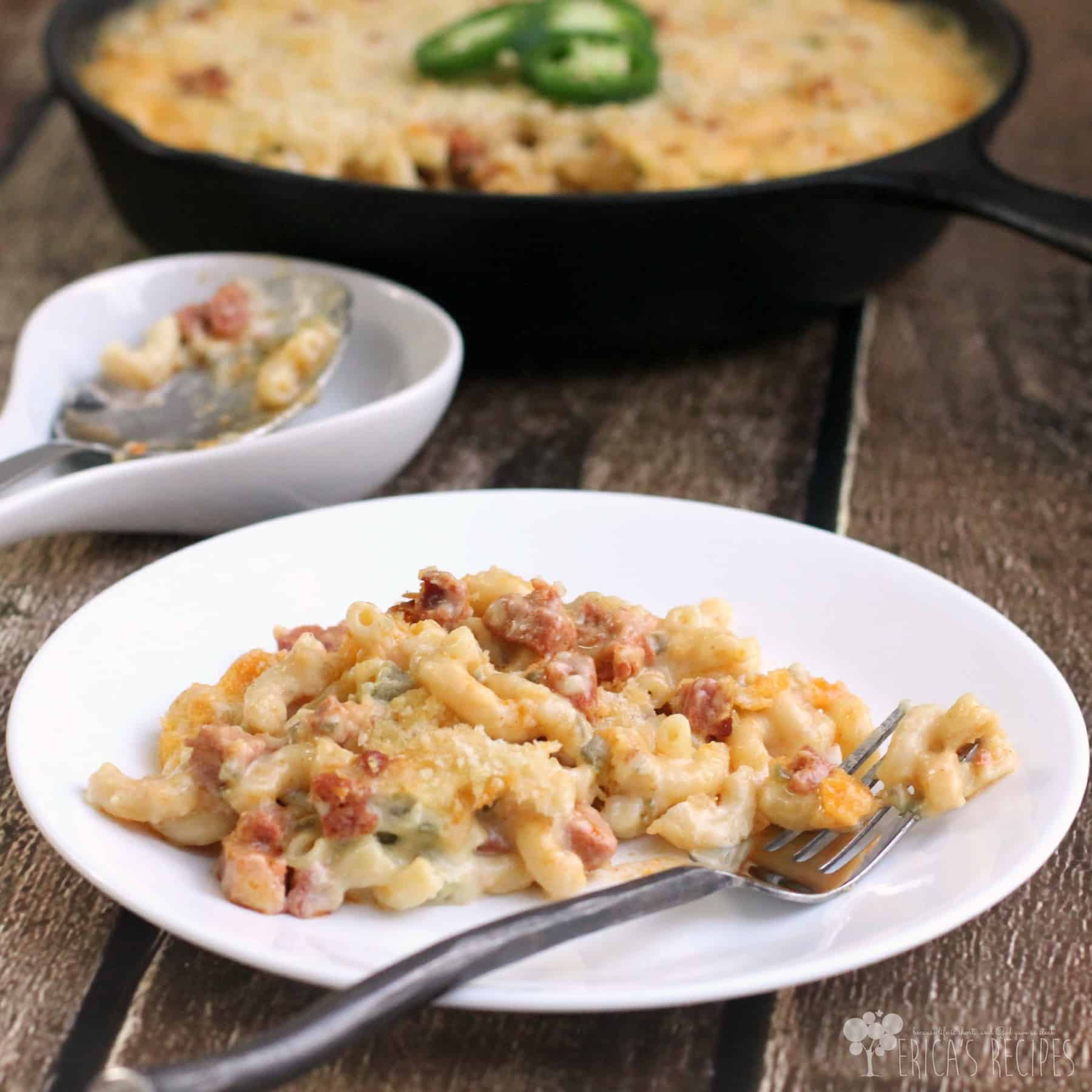 ... saucy Jalapeno and Chorizo Macaroni and Cheese is the perfect reward