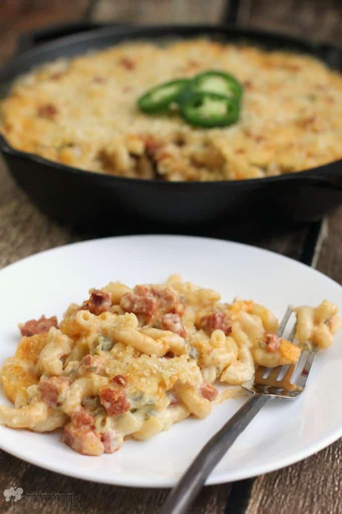 Jalapeno and Chorizo Macaroni and Cheese