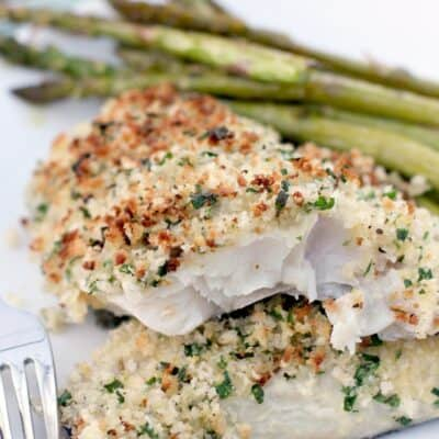Parmesan and Herb Crusted Haddock