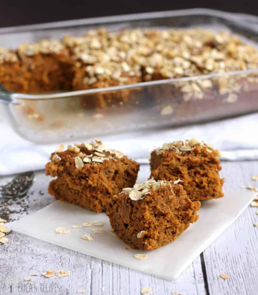 Pumpkin-Chia Protein Bars