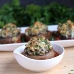 Stuffed Mushrooms Parmigiana