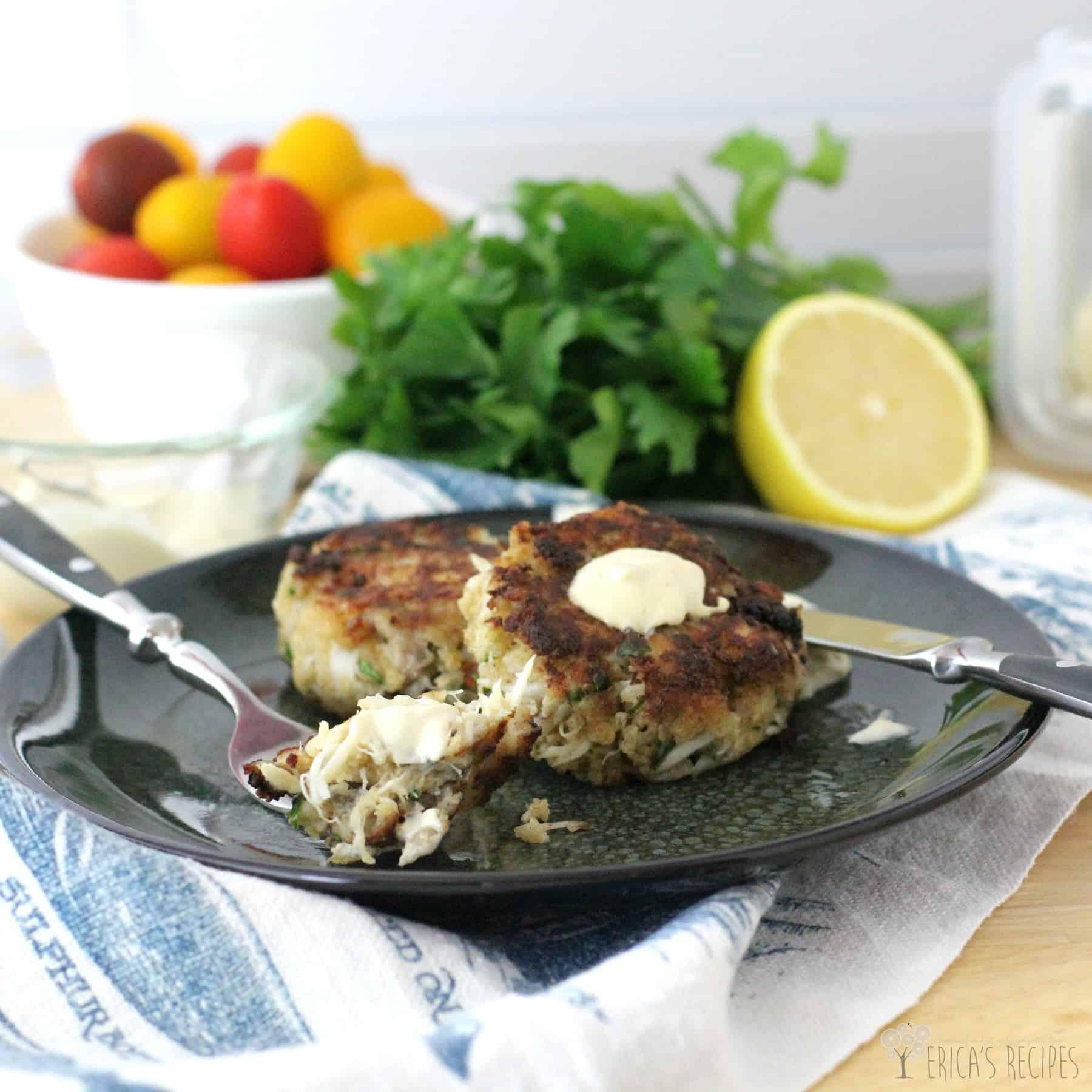 Recipe sauce for crab cakes