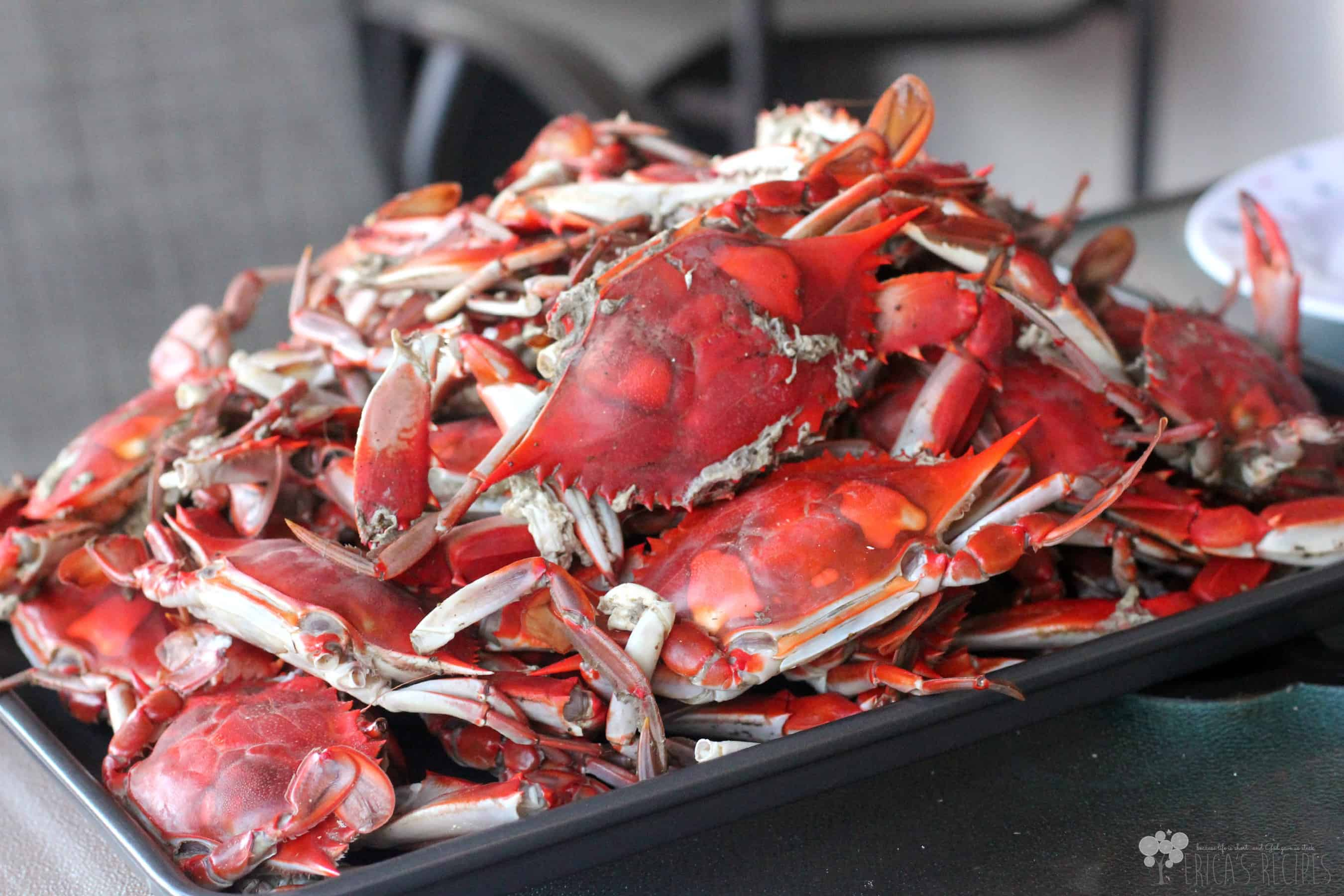 Basic Steamed Blue Crabs Recipe — Dishmaps