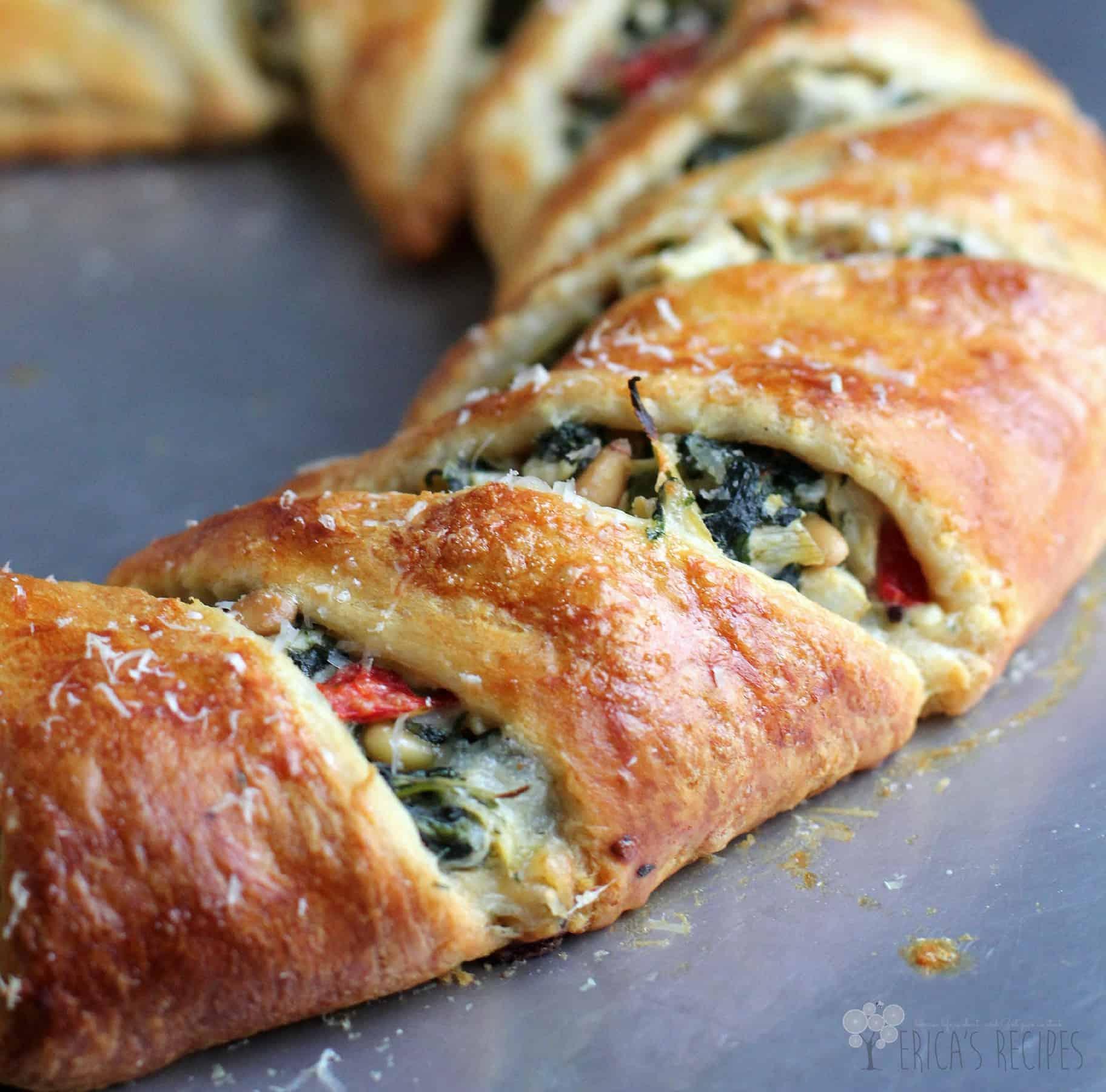 Vegetarian Crescent Ring Recipe