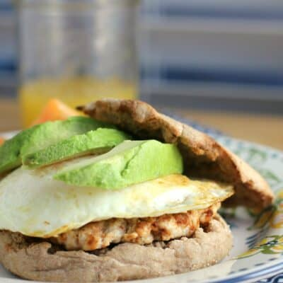 Healthy Breakfast Sandwich with Homemade Turkey Chorizo