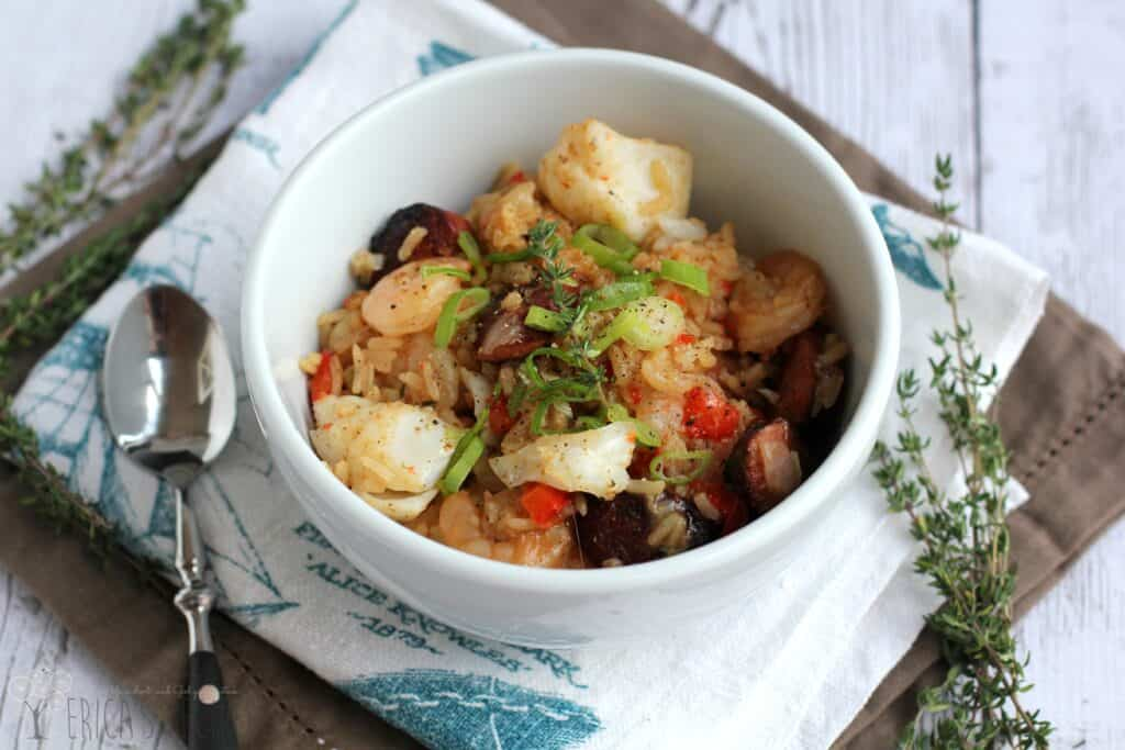 Seafood and Sausage Jambalaya