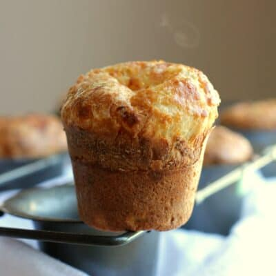 Smoked Gruyere and Thyme Popovers