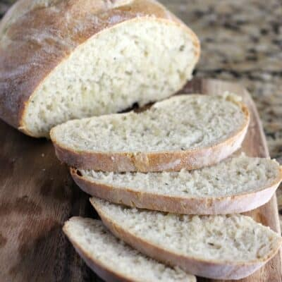 Butter and Herb Artisan Bread