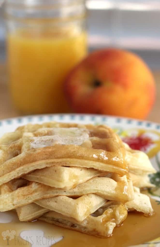 Sunday Morning Buttermilk Waffles