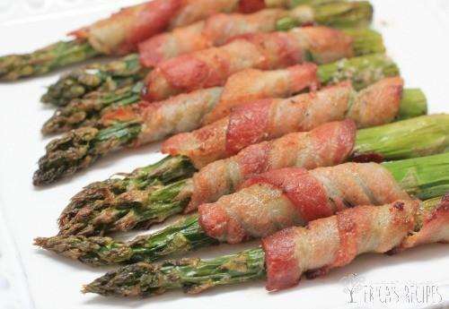 Bacon Wrapped Roast Asparagus
