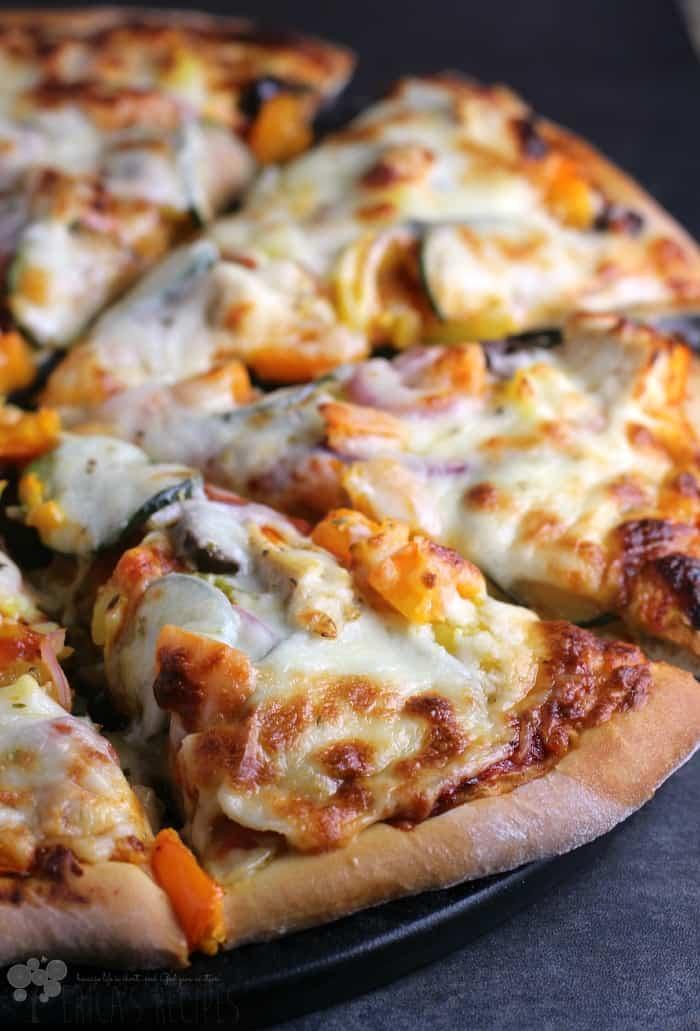 Chicken Gyro Pizza