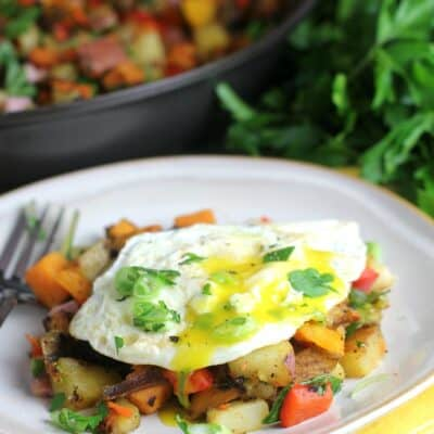 Healthy Three Potato Hash …and a Half Ironman