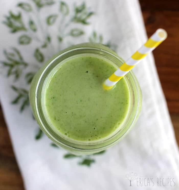 The Tropical Green Smoothie from EricasRecipes.com