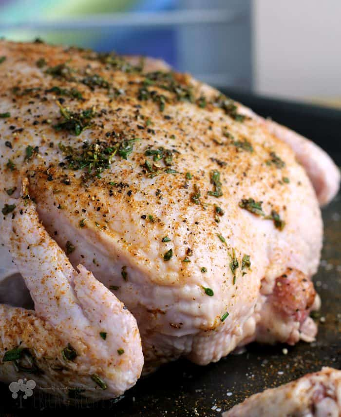 Applewood Smoked Organic, Free-Range Chicken {plus 5 strategies for making organic eating affordable} from EricasRecipes.com