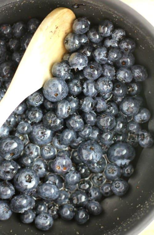 Blueberry-Maple Ice Cream from EricasRecipes.com