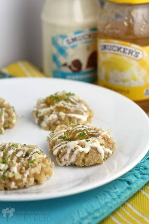 Tropical Thumbprint Cookies