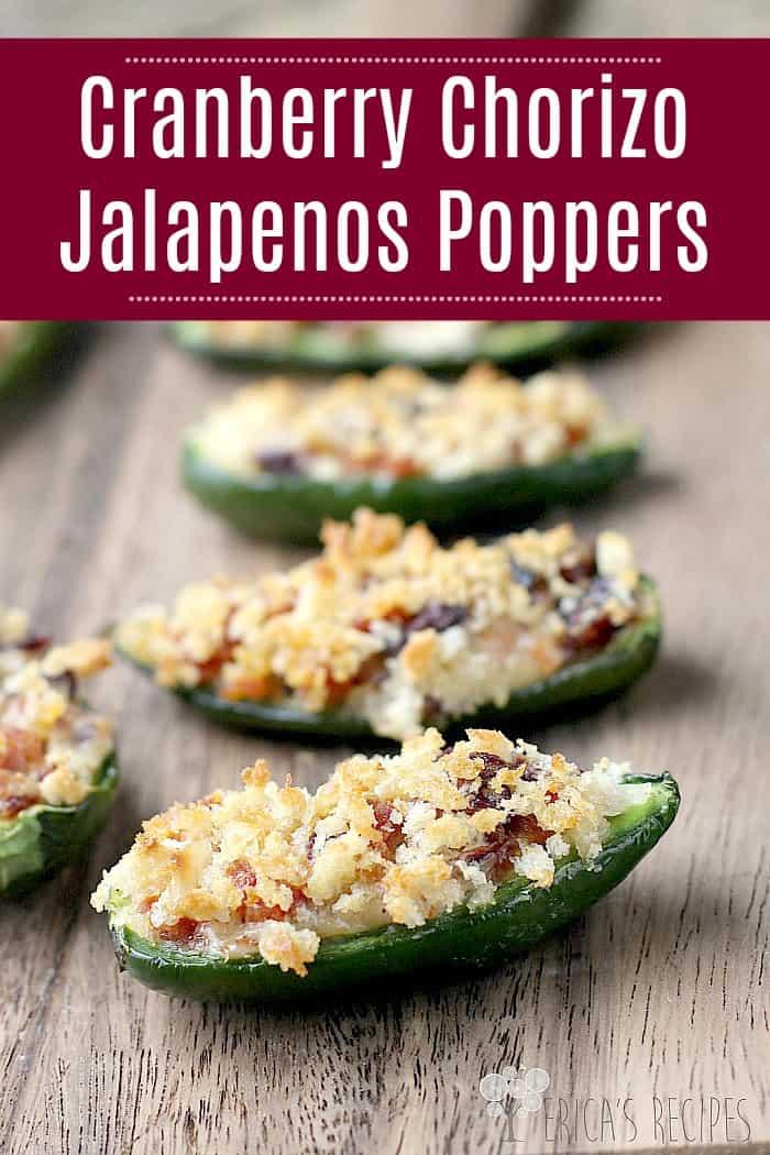 Cranberry Chorizo Jalapenos