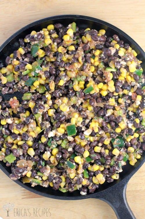 Mexican Bruschetta from EricasRecipes.com