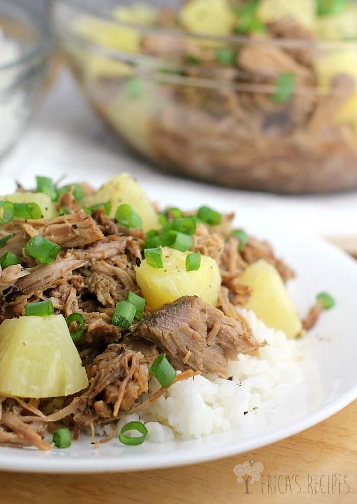Pineapple pulled pork recipe