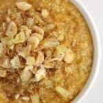 Quick and Tropical Sweet Potato Oatmeal