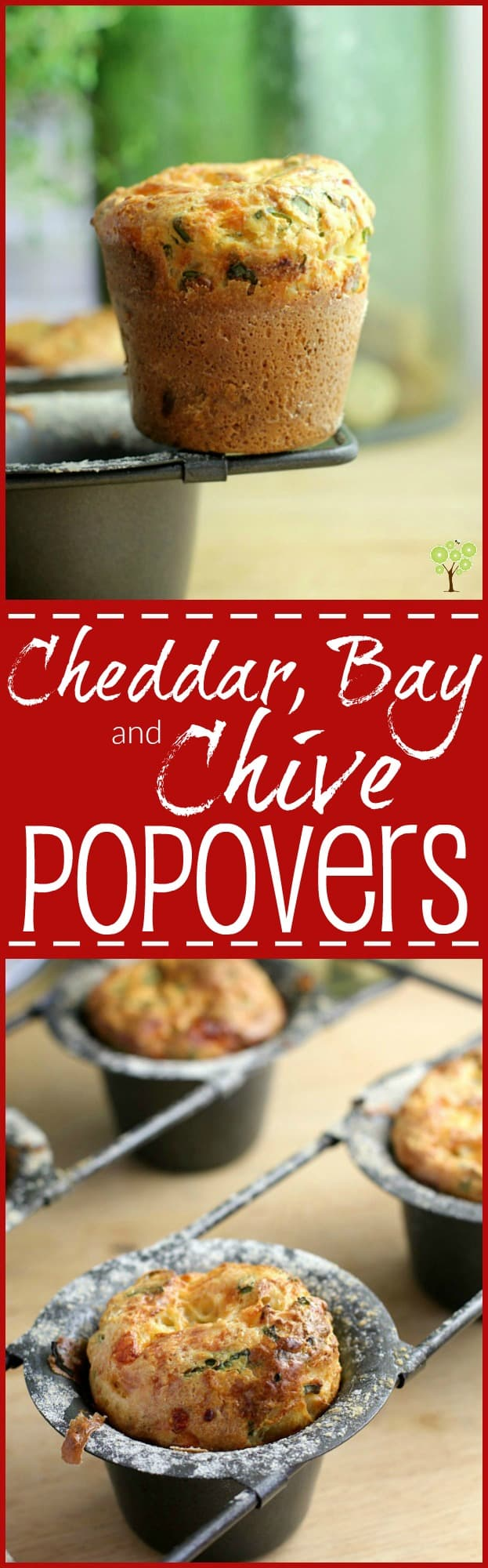 Cheddar Bay and Chive Popovers. Cheesy puffs with seafood seasoning and fresh chive http://wp.me/p4qC4h-3ll