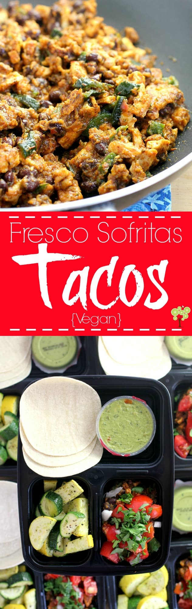 Vegan Fresco Sofritas Tacos. Make ahead then enjoy at lunch during the week. http://wp.me/p4qC4h-3nl
