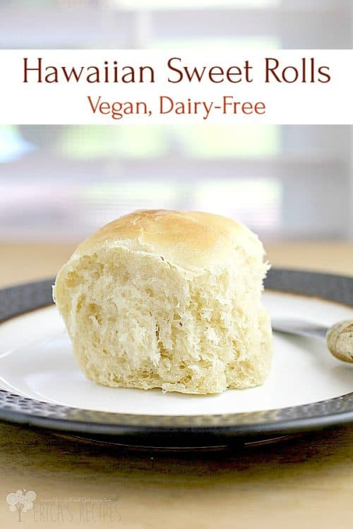 Vegan Hawaiian Sweet Rolls